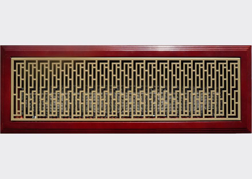 河南樱桃红边框+褐色面板
